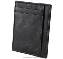 Hammer Anvil RFID Blocking Minimalist Genuine Leather Slim Front Pocket <strong>Wallet</strong>