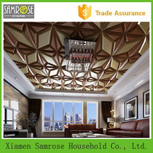 2015 new design wall decor stylish modern cheap decorative 3d restaurant ceiling decoration