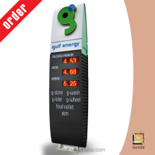 outdoor led display board gas station price signs standing petrol equipment guose factory outlets
