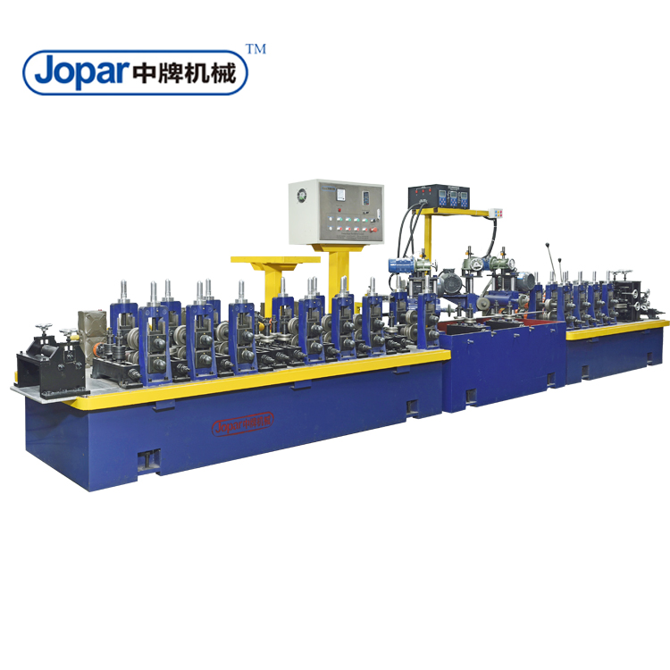 Automatic stainless steel round pipe making machines manufacturing for furniture