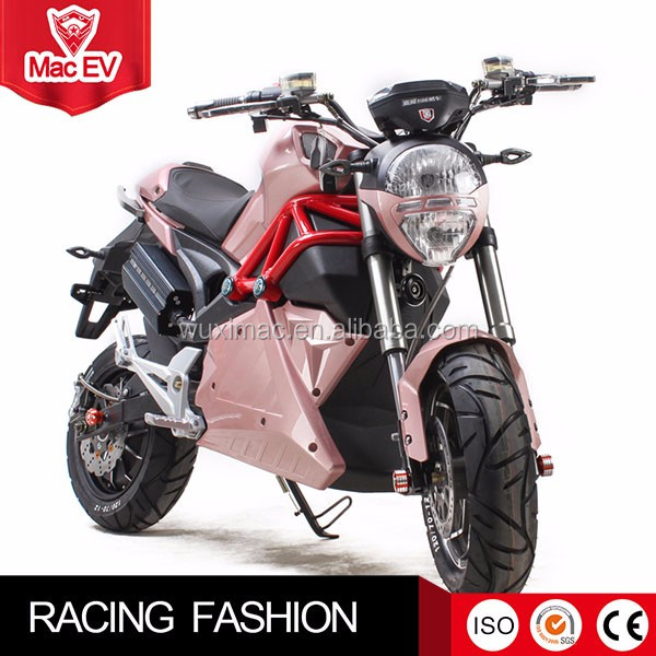 2000W high speed ladies motorcycle from original factory