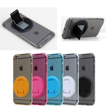 For Apple iPhone 6 6S Case, with 360 Degree TPU Bracelet Kickstand for iPhone 6 6s cover