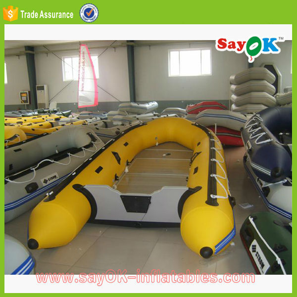 cheap large inflatable motor boat kids rescue fishing boat for sale