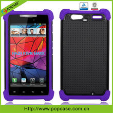 Triple defender case for motorola razr xt910