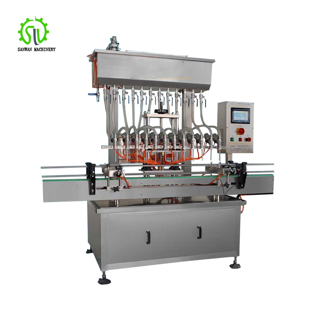 Automatic Olive Oil Bottling Packaging Machine Bottle Filling Machine