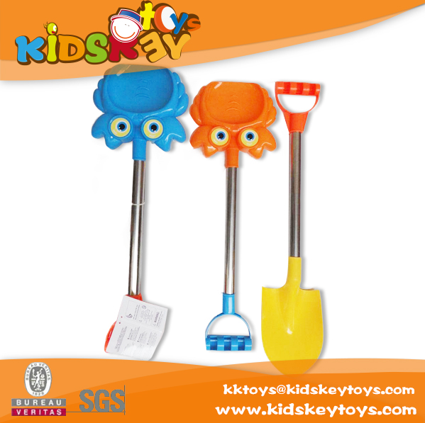 Funny colorful toy kids summer sand beach toll plastic toy shovels