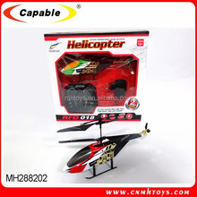 Air fun helicopter model 2 Channel professional smart metal RC toy helicopter