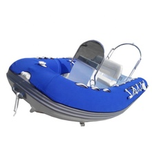 alu rib 380 inflatable boat dinghy with tube cover