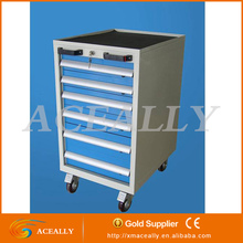 heavy duty metal storage box files tool roller side cabinet for office/factory