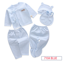 unix 5 pcs organic cotton baby clothing set