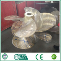 Customized marine copper fixed pitch propellers