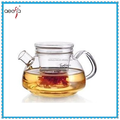 Hot Sale Home Decoration Borosilicate Glass Tea Coffee Pot