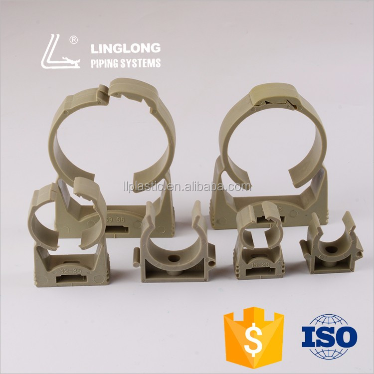 Dependable performance plastic clamp on pipe fitting
