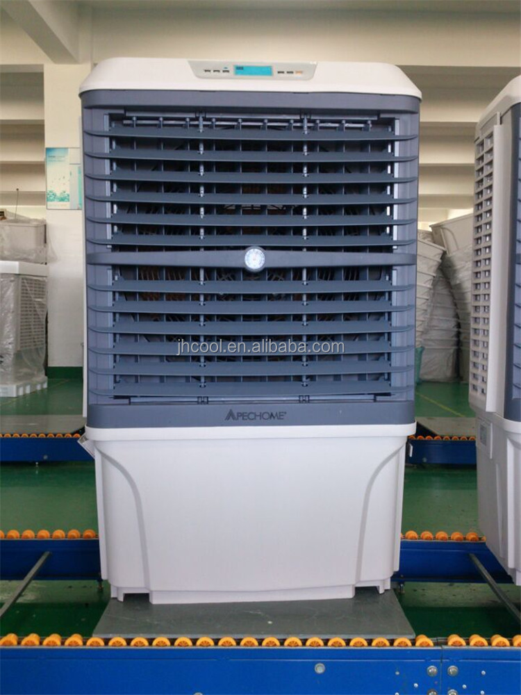 Water-air-cooled machine dry type air cooler room portable ventilation system for cooling air
