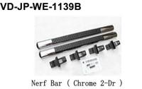 For jeep wrangle nerf bar (chrome 2-dr)