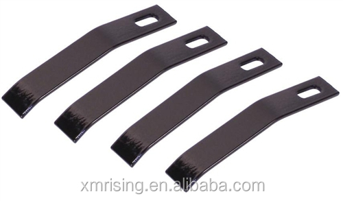 CNC machine parts stamping Exhaust Tabs for Heat Shields