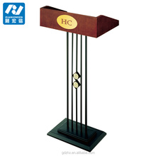 Wooden rostrum for conference room steel podiums