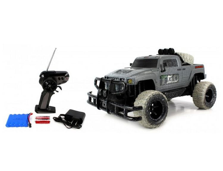 28281405-Velocity Toys Mud Monster Hummer H3t Electric RC Truck 1-10 RTR