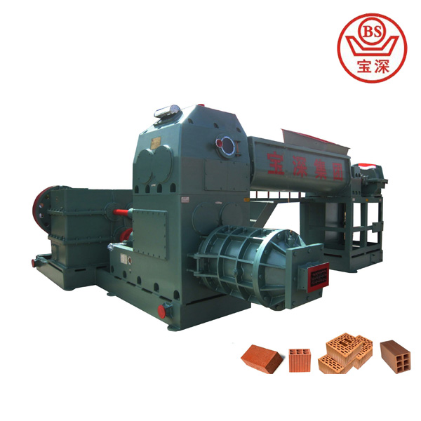 Fully automatic clay brick making machine,JK40 Vacuum extruder for brick plant