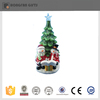 new style colorful ceramic christmas tree with light