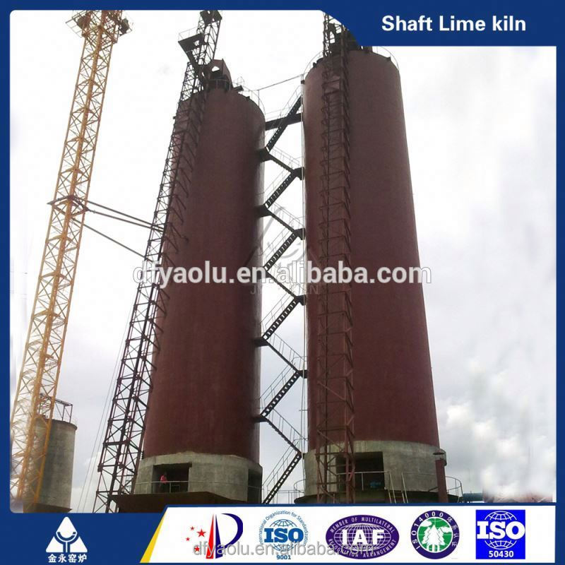China Coal Fired Vertical Lime Kiln Production Line With Assessed Supplier