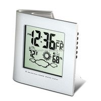 Wholesale Solar power multifunction car/ outdoor/desktop clock on China