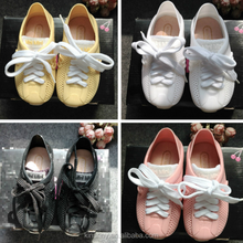KS10055S Wholesale high quality kids casual style lace up jelly shoes latest design rubber shoes