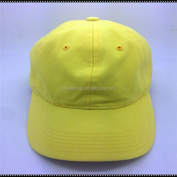 6 panels custom 100%cotton washed baseball cap