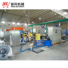 PE PP film plastic bags granulating recycling machine pelletizing production line