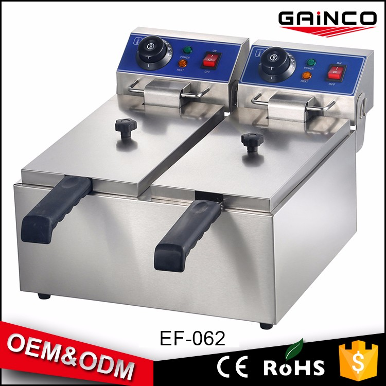 GAINCO fryer electric chicken fryer machine henny penny restaurant kitchen equipment price list