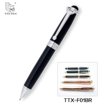 Promotional Metal pen Writing smoothly heavy metal roller pen with logo