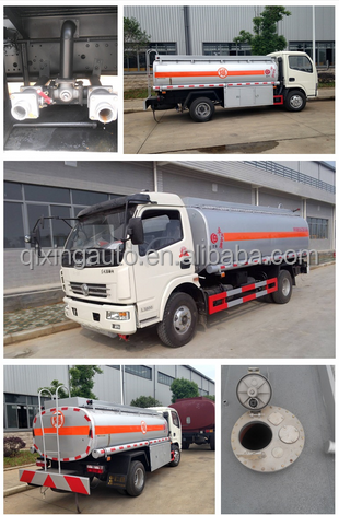 2015 Hottest Small Fuel Tank Truck 4X2 Oil Tanker Truck