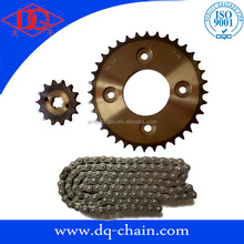 Indonesia market sprocket kits for motorcycle drive chain kits