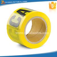 Wholesale Underground Detectable Yellow Caution Tape/Warning Tape/Marking Tape