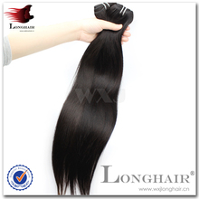 New style top selling straight weft vigin remy brazilian human hair