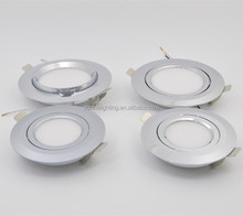 Boat Recessed Ceiling Light LED Panel Light DC 12V 24V 3W Aluminum Downlights