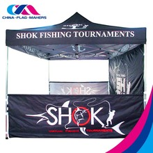 top quality custom different logo outdoor fold print pop up marquee canopy tent