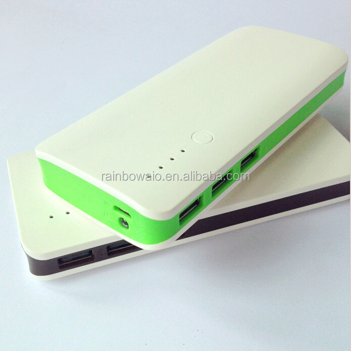High capacity 12000mah power bank charger mobile phone charging station external battery backup for portable device