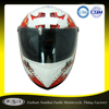 Good price DOT ABS decals mini helmet for toy motorcycle helmet with visor