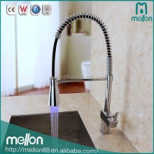 2016 factory sell high flow led kitchen faucet