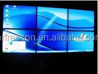 Hot sell xxx p4 indoor 55 inch led video wall display on sale