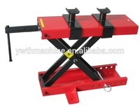 1100lbs 500KG Mini scissor lift platform Jiffy Jack With Safety Pin for motorcycle Maintenance support tool