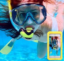 100% Waterproof cell phone case Waterproof Driving Underwater cell phone case for iphone7/7puls