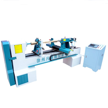 China's' Automatic CNC wood copy lathe wood working turning lathe for railing
