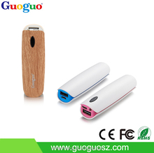2015 New Design 2600mAh Portable Lipstick Power Bank Battery Charger with CE, FCC, ROHS Power Bank for Macbook Pro /iPad Mini
