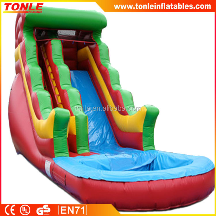 Best price jumping castles inflatable water slide/large water slide