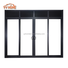 YY Home Australia Standard Thermal Insulated Double Glass Aluminium Sliding Doors With Australian Standards AS2047 Certificated