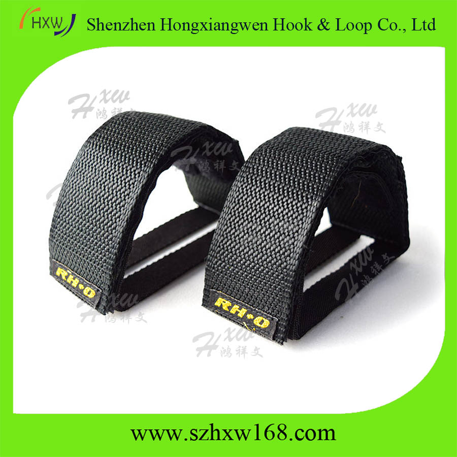 Bicycle Anti-slip Bike Pedals Strap Nylon Double Foot Straps