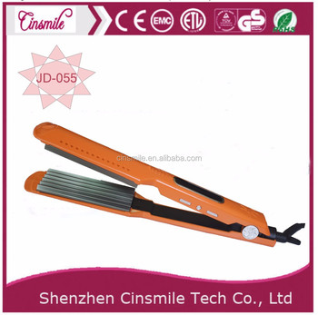 Hair crimpers and wavers Salon hair straightener hair crimper With CE,RoHS