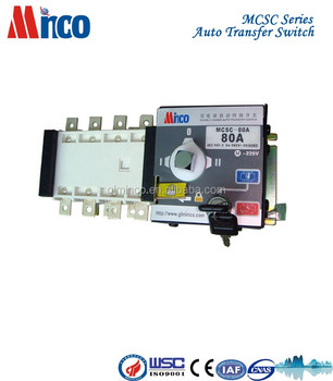 110V Transfer Switch - A Ats Generator Change Over Switch V V Automatic Transfer Switch For Generator - 110V Transfer Switch